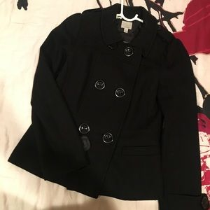 Halogen Wool Double Breasted Peacoat